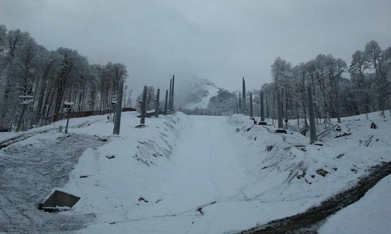 Олимпийская стройка в Сочи