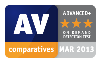 AV-Comparatives Advanced Plus for Kaspersky