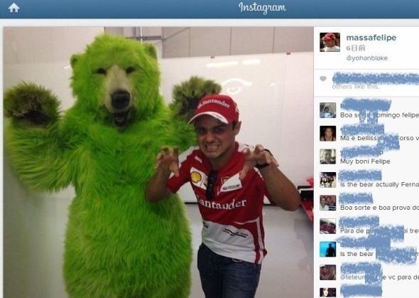 Greenbear и Филипе Масса