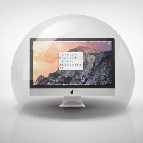 Apple OS X Yosemite protection