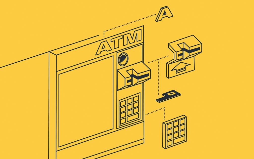 ATM Skimmer Structure