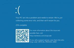 Новый «экран смерти» в Windows 10 даже страшнее, чем старый