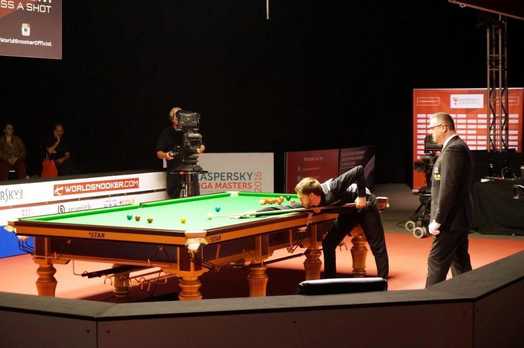 Kaspersky Riga Masters: наш профессиональный турнир по снукеру