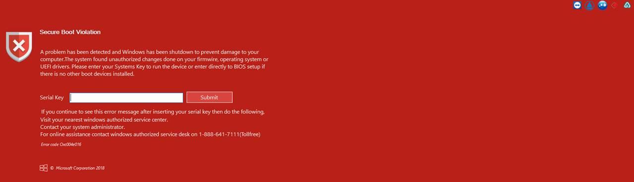Экран блокировки компьютера с возможностью организовать удаленное подключение
