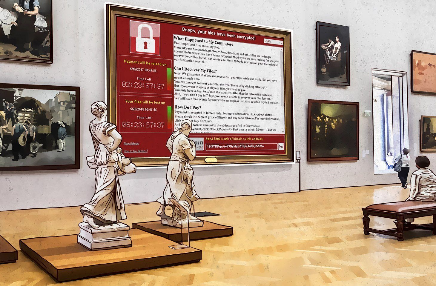 WannaCry was responsible for 30% of ransomware attacks in Q3 2018