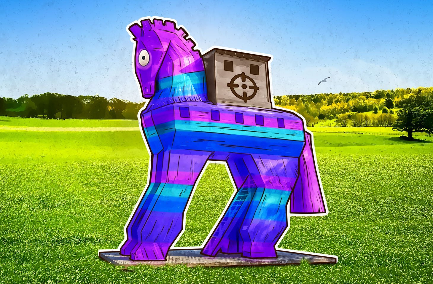 Ransomware posing as a Fortnite aim and WH cheat pack
