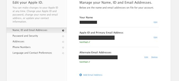 AppleID Security