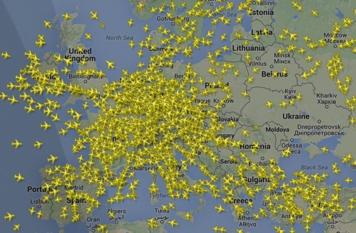 Tracking airplanes: how Flightradar24 works