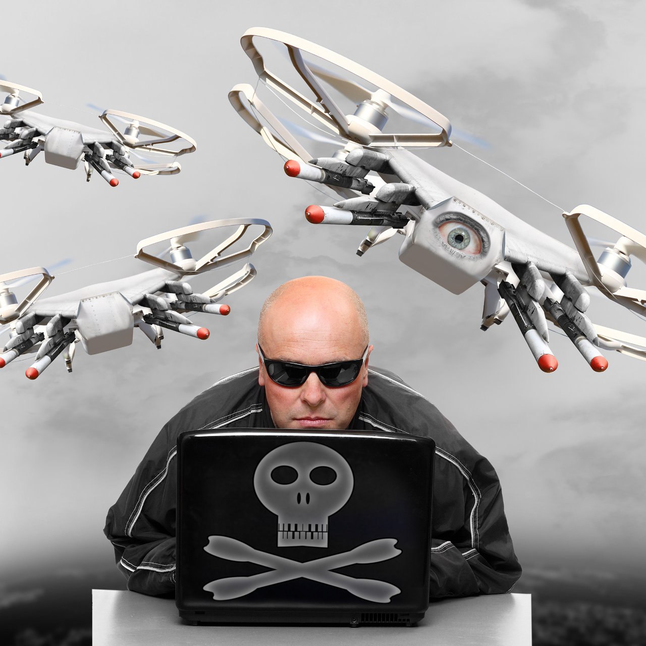 Drones armed with guns, chainsaws and vulnerabilities