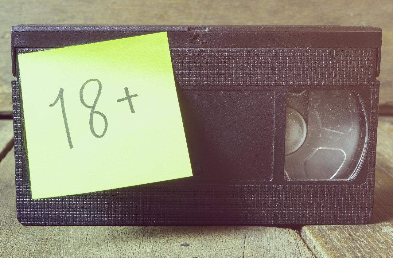 Adult video tape