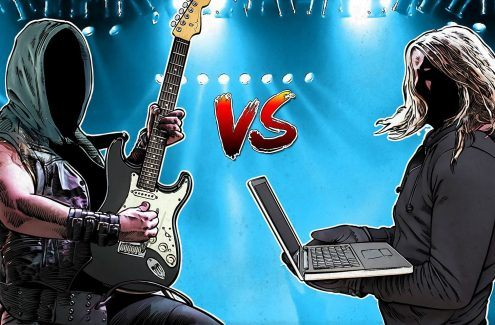 Er du en fan av heavy metal? En ekspert i cybersikkerhet? Ta quizen vår og se om du kan skille metal-band fra cybertrusler!