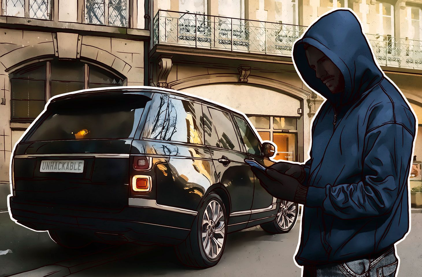How secure are your vehicle's smart devices?