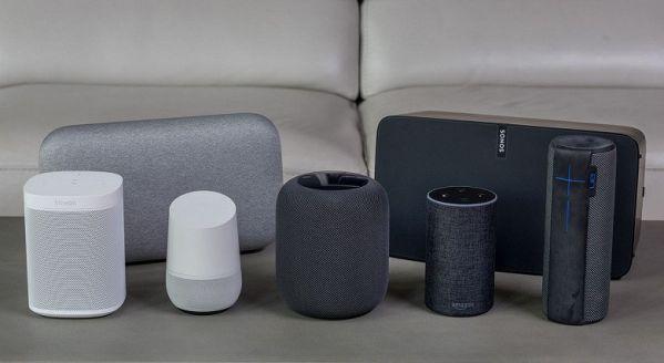 Eavesdropping smart speakers