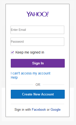 Example of a webmail sign-in page on a phishing website