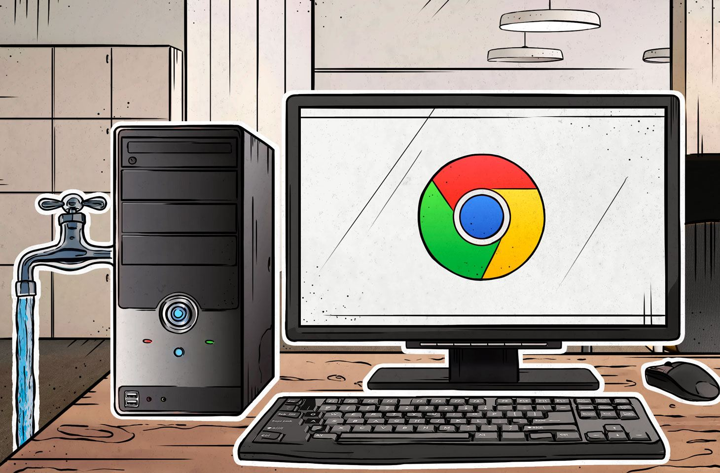 Browser extensions can leak internal company data.