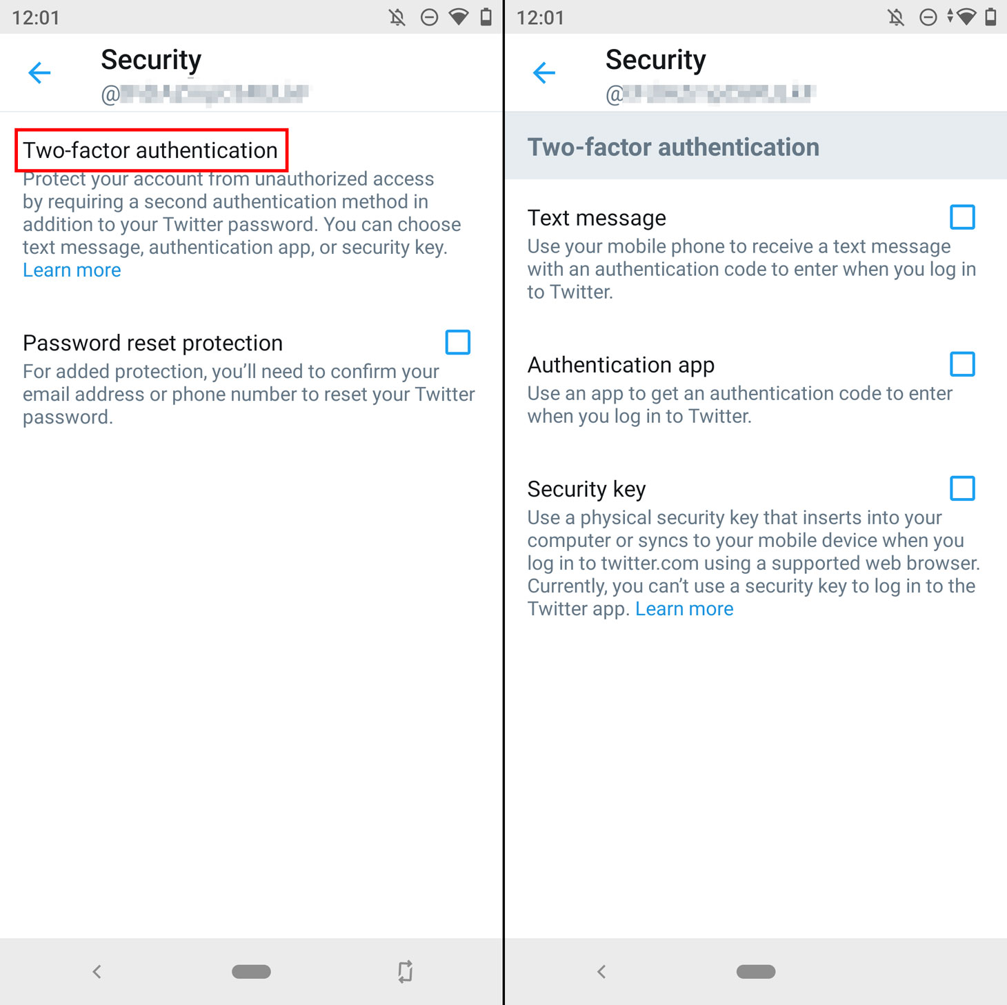 How to protect your Twitter account with two-factor authentication