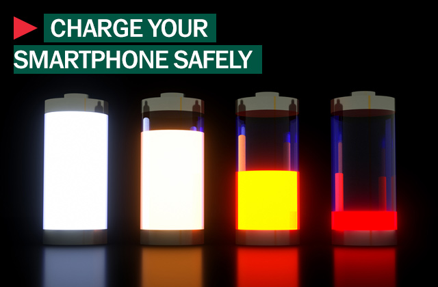 charge your smartphone