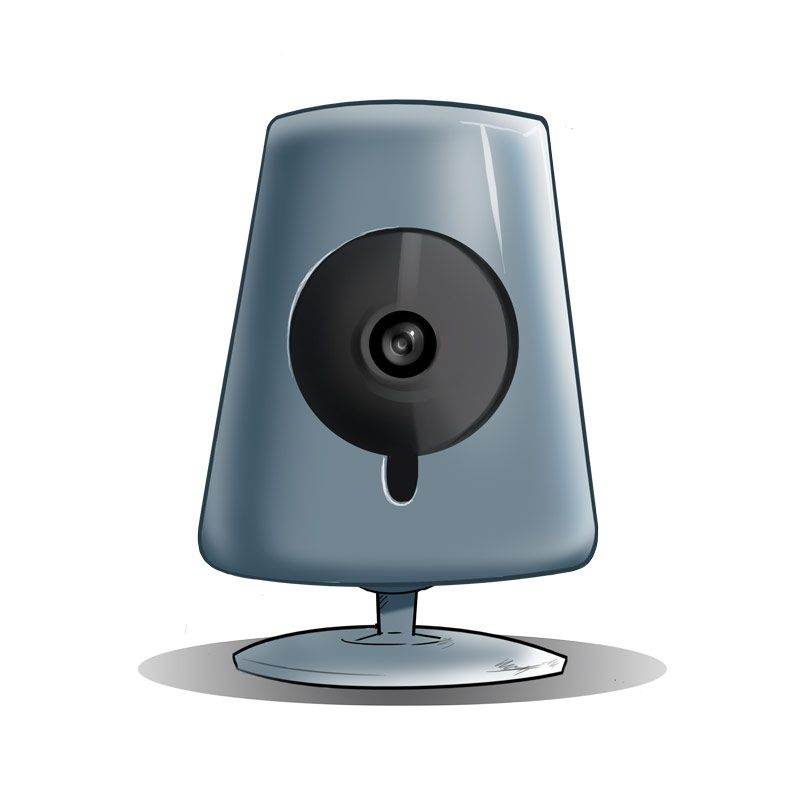 Vulnerable IP camera