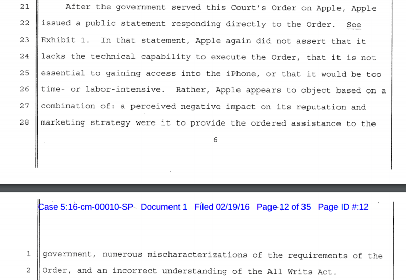 FBI explains, why Apple refuses to collaborate