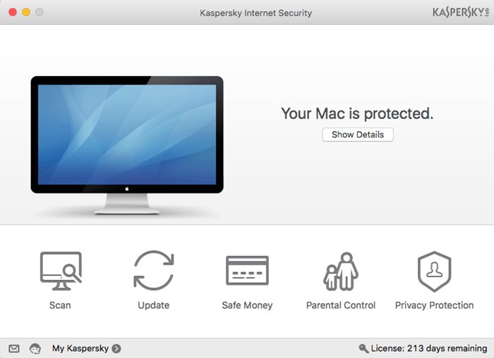 Other online threats put Mac users at risk as well. Kaspersky Internet Security for Mac can neutralize them all.