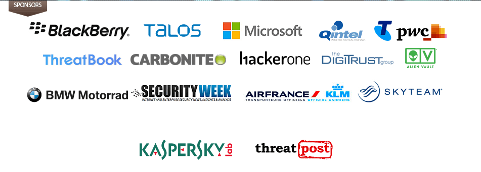 Security Analyst Summit 2017: sponsors