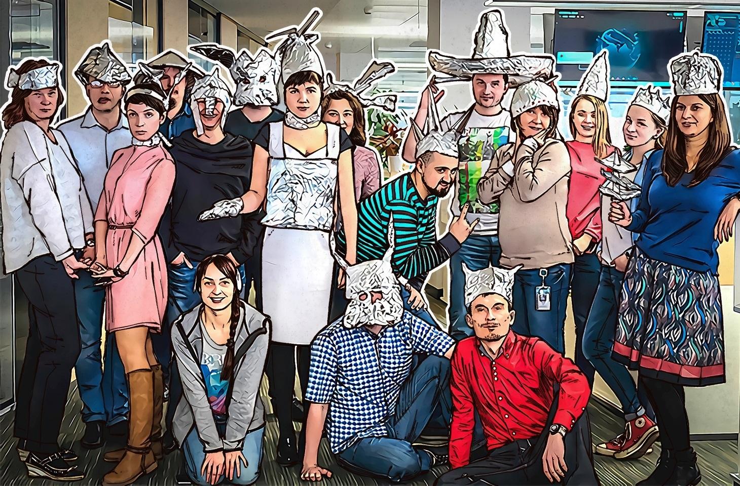 International Tinfoil Hat Day 2017