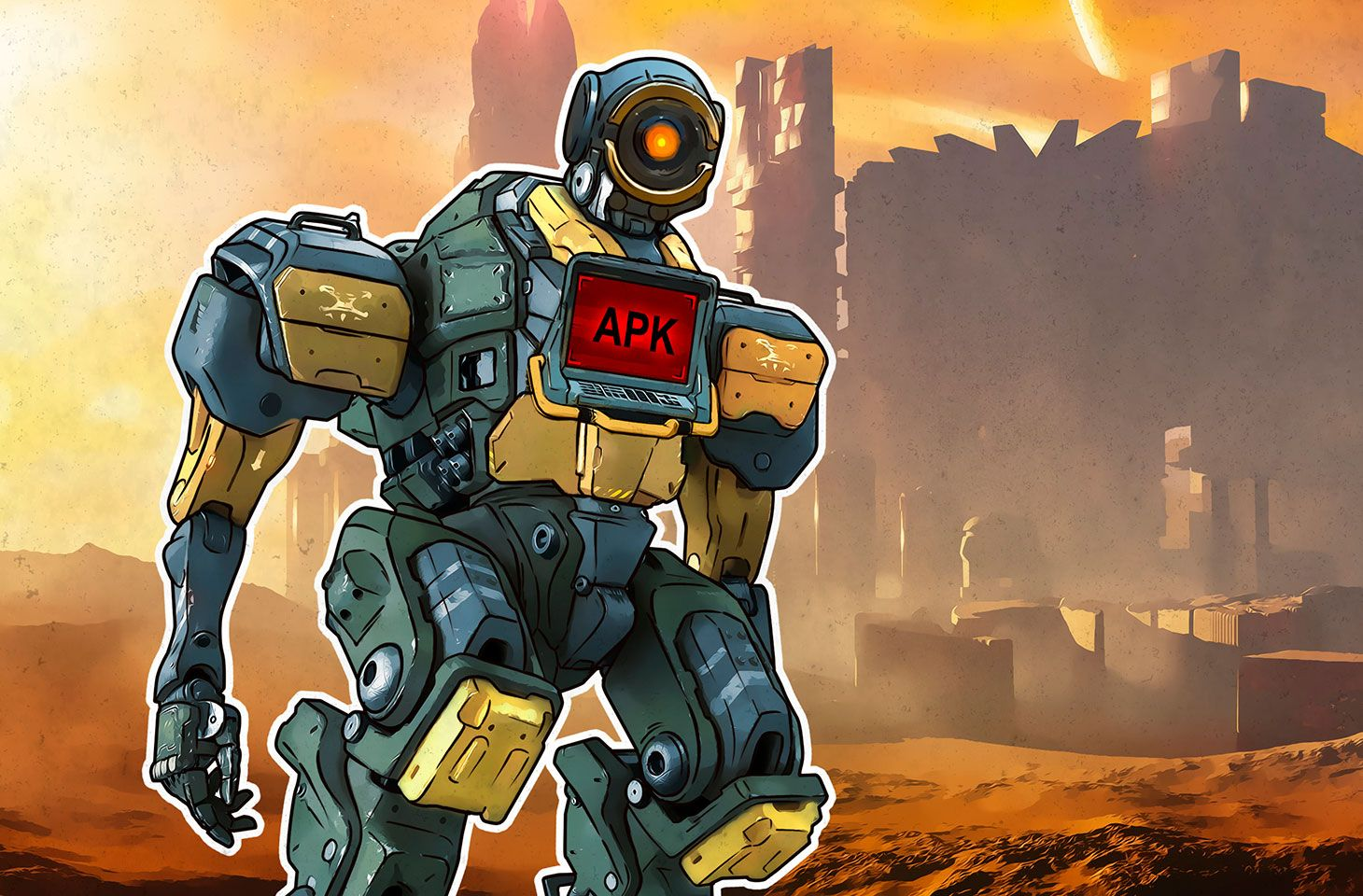 Malware disguised as Apex Legends for Android