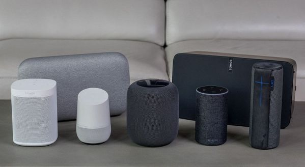 Eavesdropping smart speakers