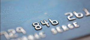 blurred out credit card image