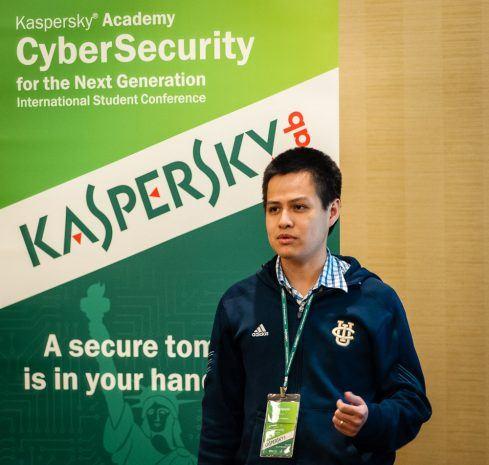 Kaspersky Academy speaker