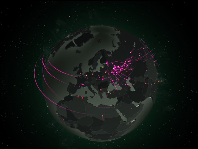 An interactive map of online threats kaspersky lab official blog in todays world it takes minutes for new malware applications or spam to be distributed gumiabroncs Images