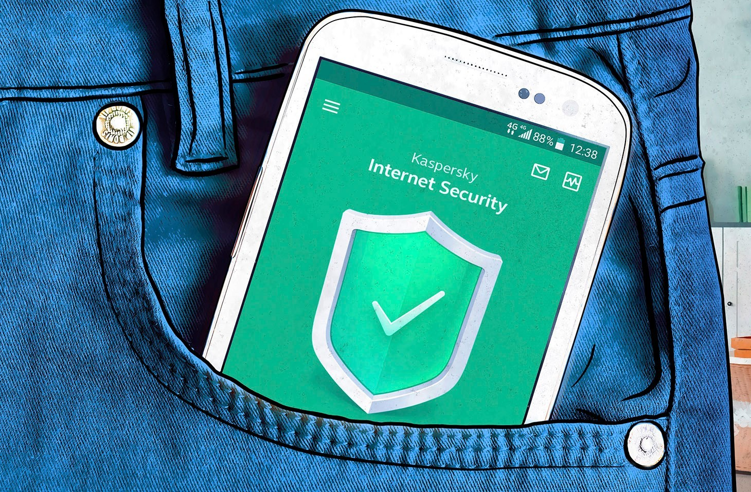 The difference between the paid and free versions of Kaspersky Internet Security for Android