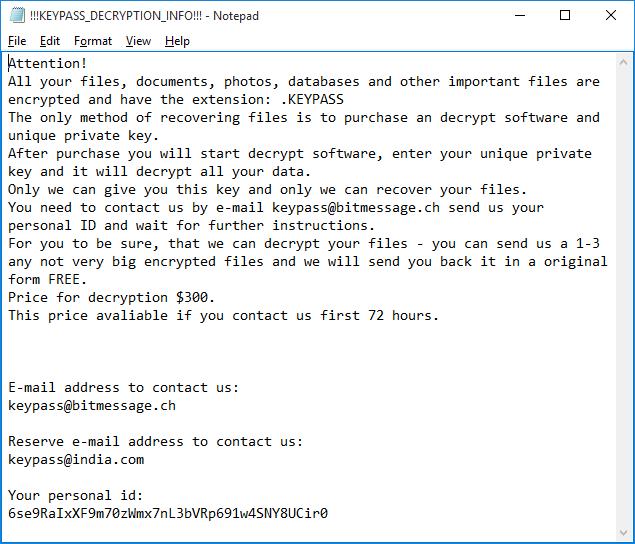 keypass-ransomware-ransom-note