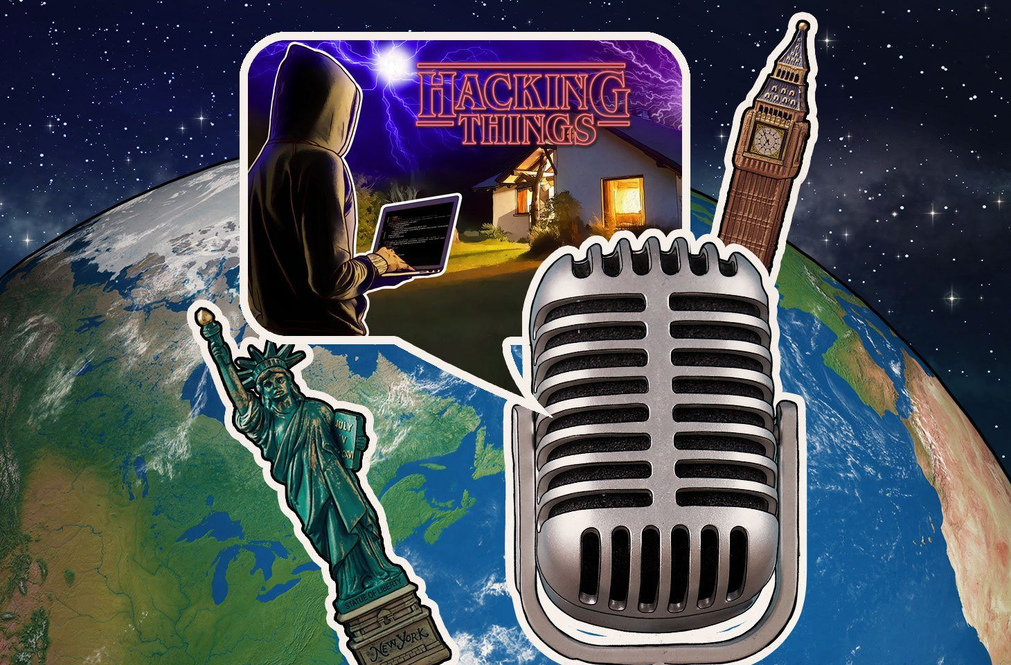Dave and Jeff discuss the latest trend in US cities paying the ransom, hacking the smart home, Cirque du Soleil app issues and more.