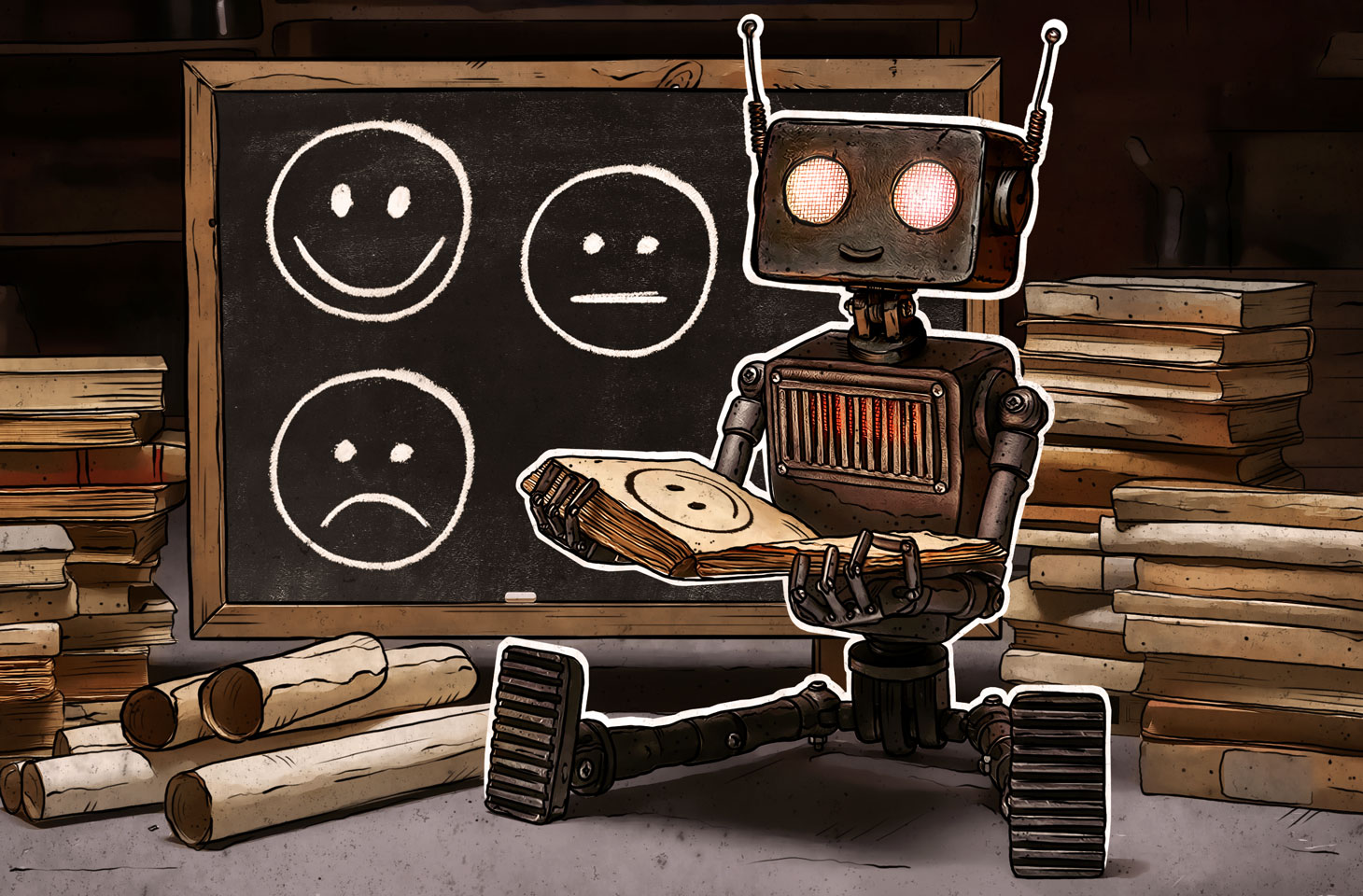 How AI learns to recognize human emotions
