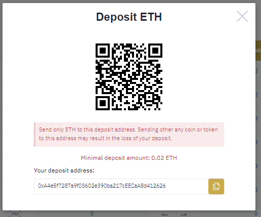 The fake exchange asks for a balance top-up in exchange for access to the prize