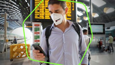 Digital-only badges, COVID tests every 72 hours, mandatory FFP2 masks, and other signs of the new normal at MWC21