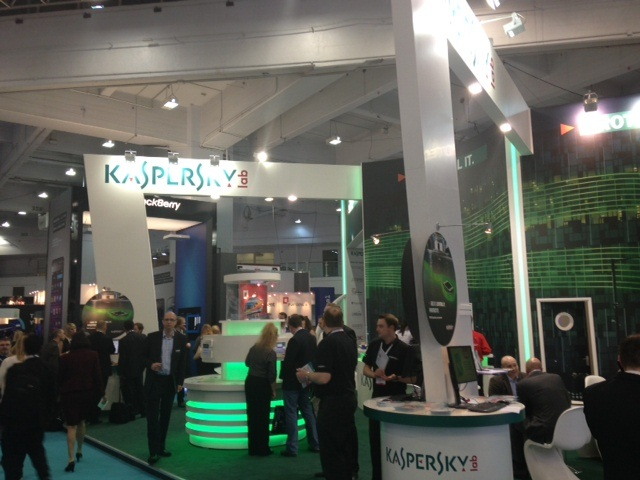 Kaspersky at Infosec