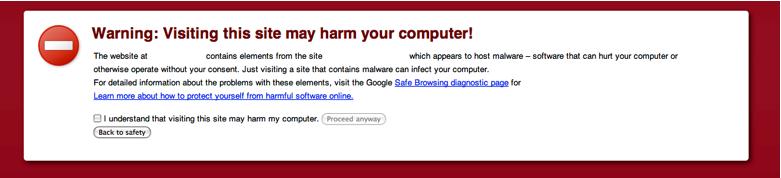 website virus