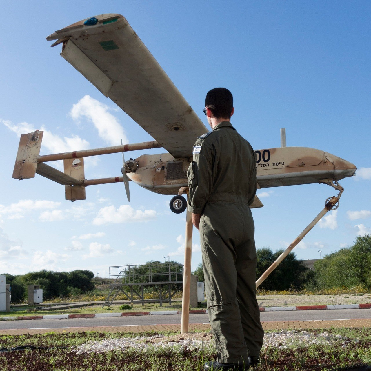 Eyes in the sky: Israel Defence Forces drones