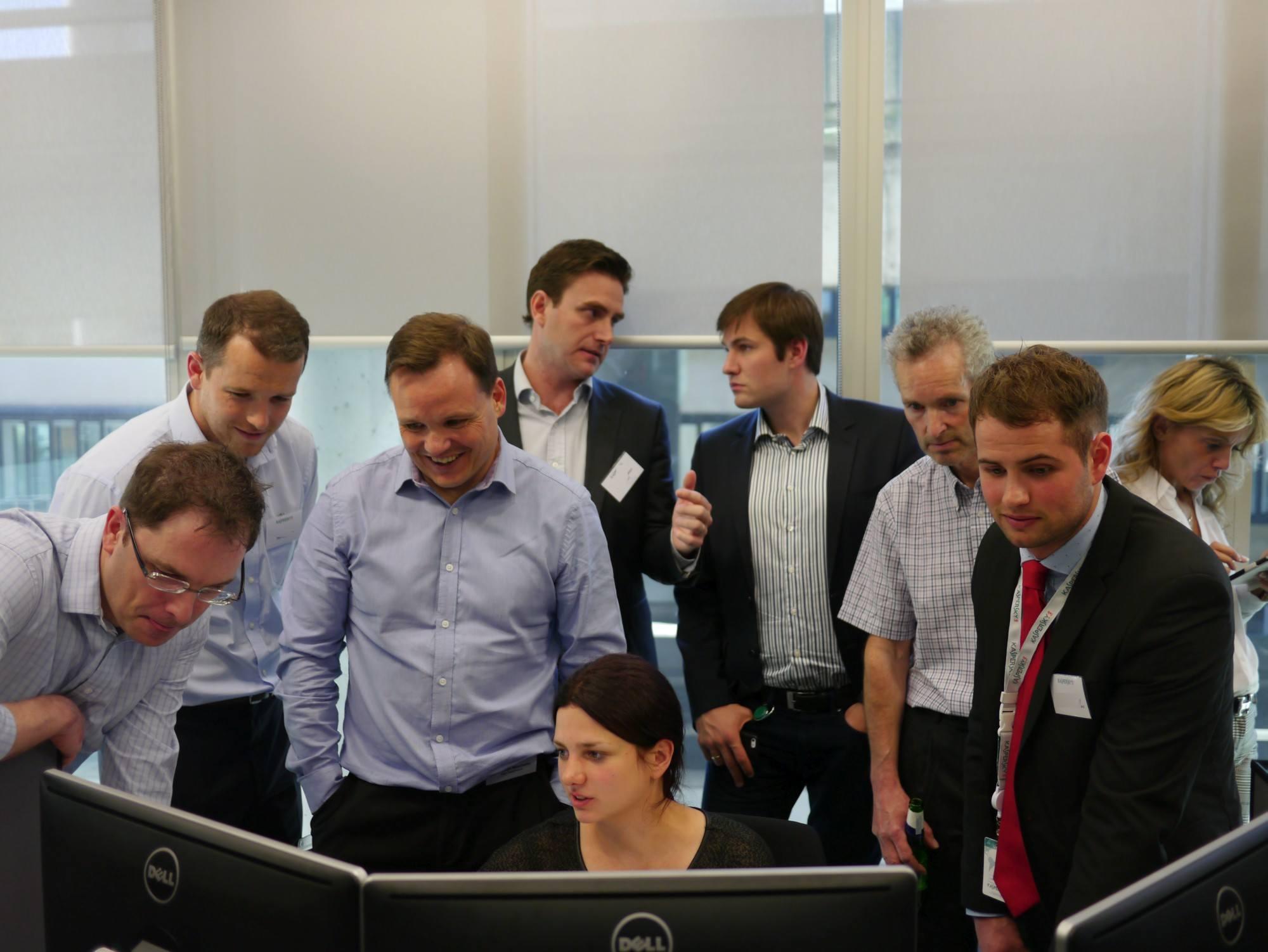 Kaspersky Lab guests