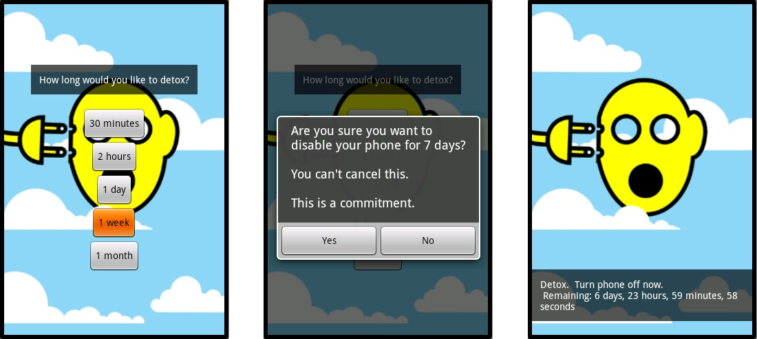 Digital Detox app