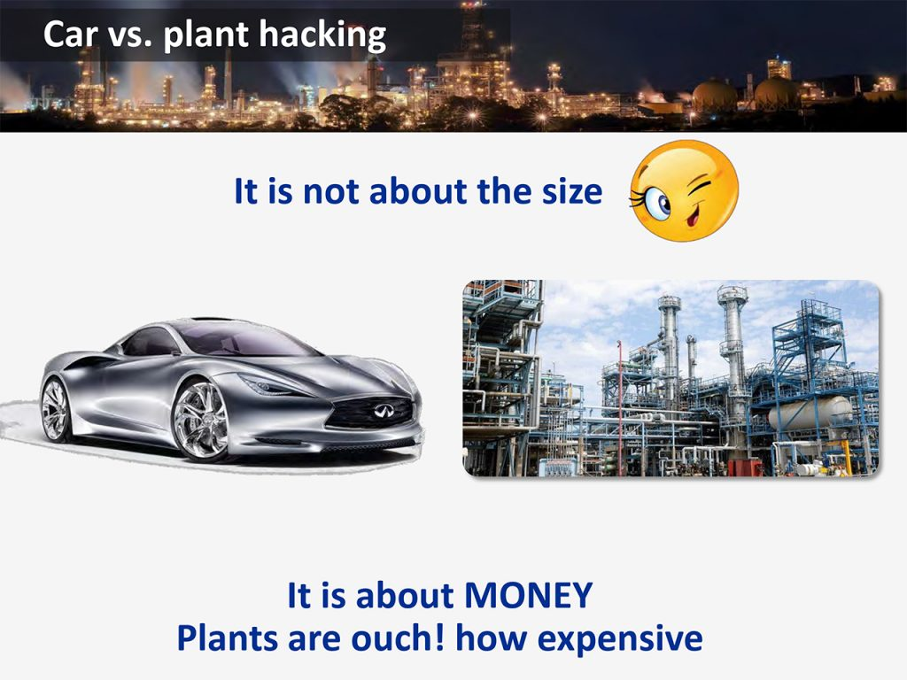 Chemical Plant Hacking