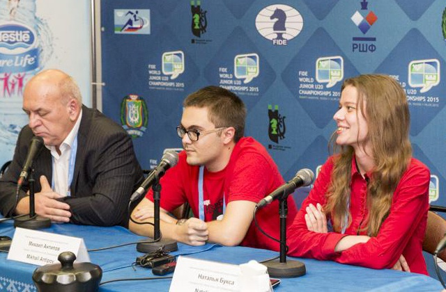 An interview with Russia's youngest grand master