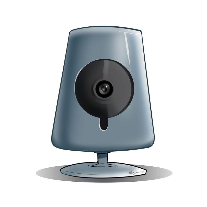 Vulnerable IP camera