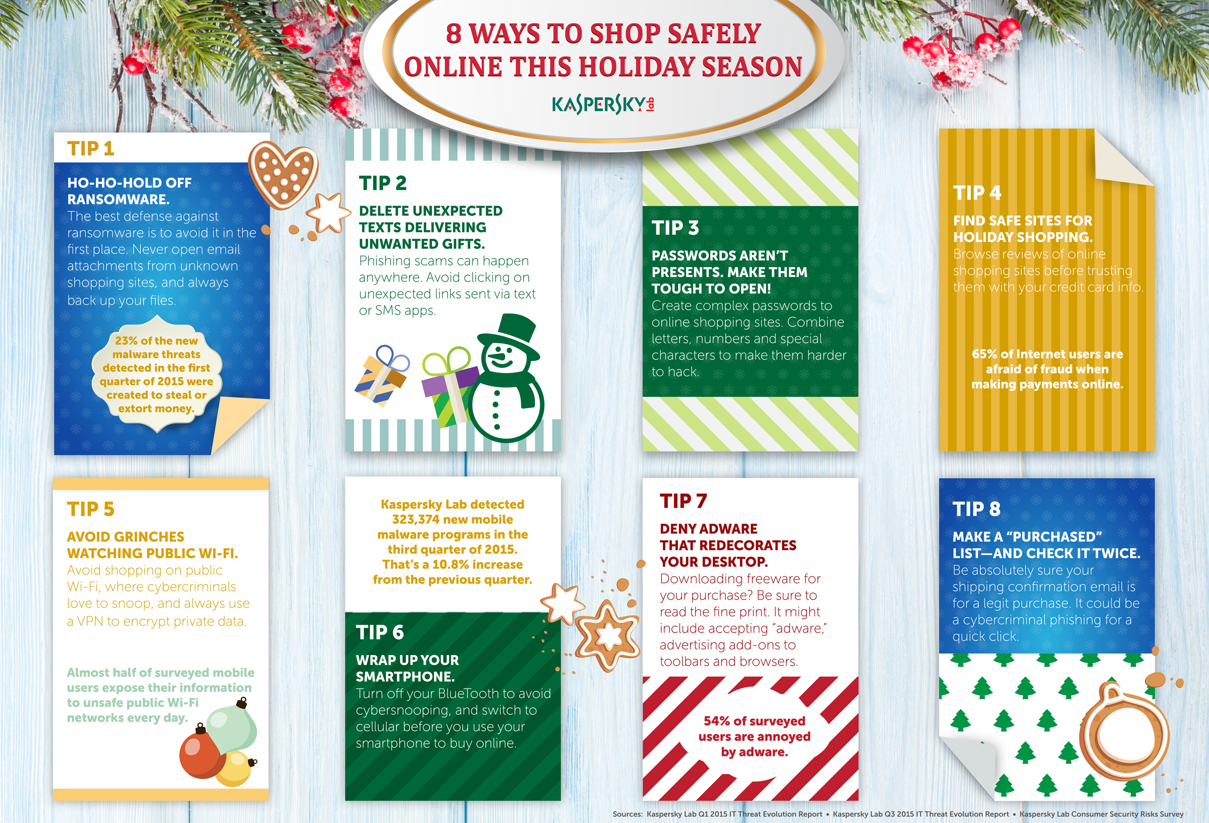 Shop Safe online this holiday season