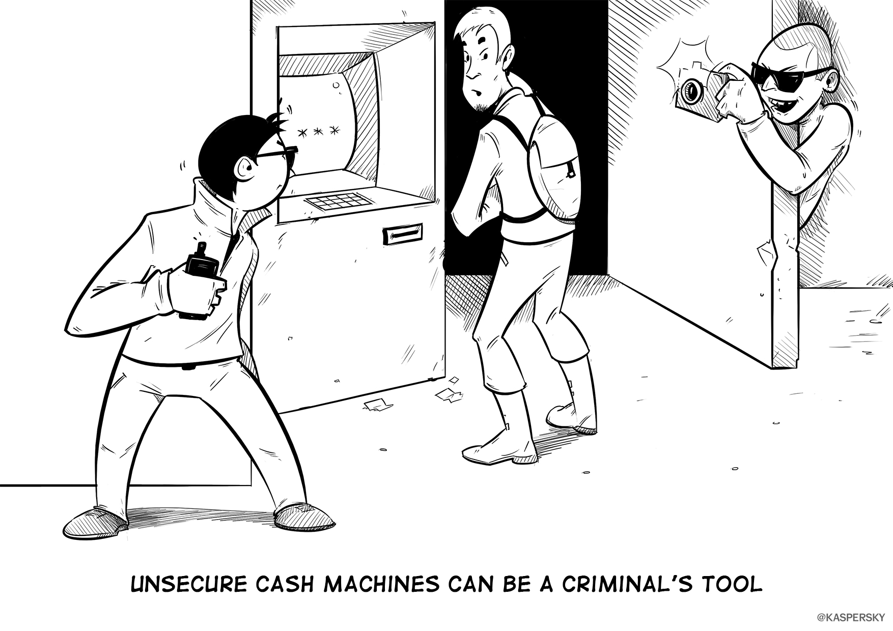 Unsecure ATM