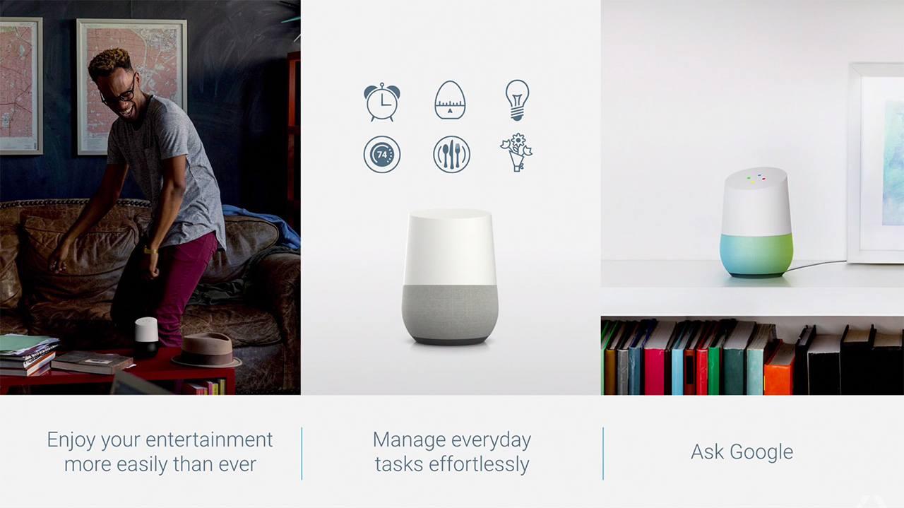 Google I/O 2016: Google Home