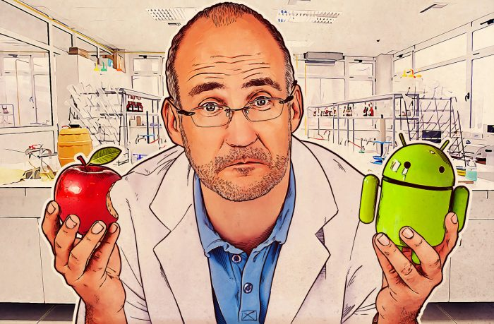 How Apple iOS stirs towards Android