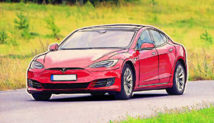 Tesla Model S was hacked remotely